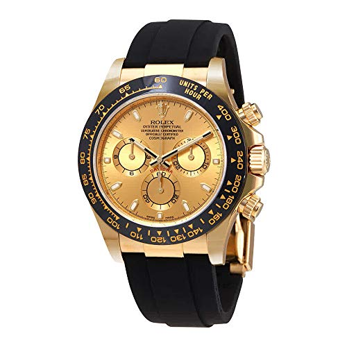 Rolex Cosmograph Daytona 18K Yellow Gold Dial Automatic Mens Watch 116518CSR