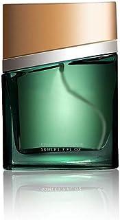 DQM Perfume para Hombre Verde Spray de perfumes Naturales Florales y afrutados amaderados Eau de Toilette Fresco de Larg...