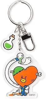 Netmarble BTS Official Halloween Acrylic Keychain + Idolpark Gift