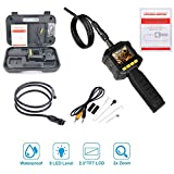 Teabelle Boroscopio de Mano endoscopio Digital industrial Cámara de Inspección Videoscopio portátil motores de coche sistemas de ventilación