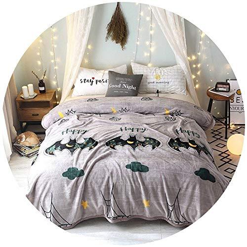 XC Fleece bed Dekens/Winter Deken Imitatie Cashmere Dubbele Deken, Koraal PU Warm Handdoek Is Kerst Serie
