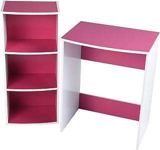 MEUBLE COSY Table de bureau , /rose