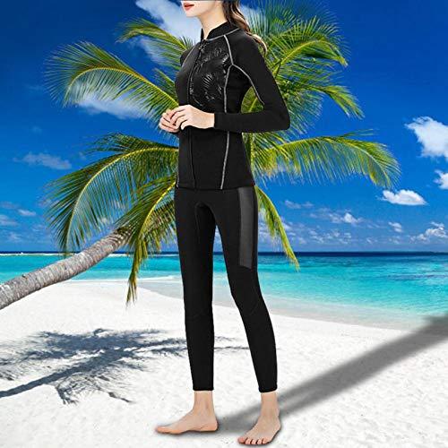 DAUERHAFT Traje de Buceo Agradable a la Piel, de Secado rápido, para Nadar, para Deportes acuáticos(XXL)