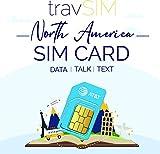 travSIM USA SIM Karte (AT&T SIM Karte) Gültig für 10 Tage - Unbegrenzte* 3G 4G LTE - Mobile Daten - Vereinigte Staaten AT&T US SIM Karte (Funktioniert auch in Kanada und Mexiko) -