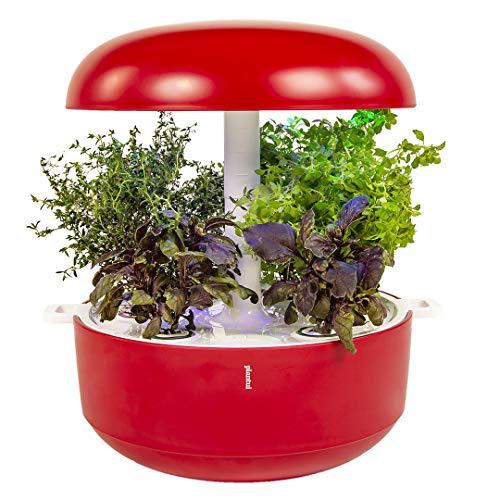 Plantui SG6-R Smart Garden, rojo, 29 x 29 x 37...