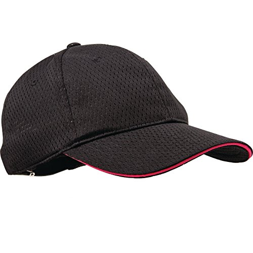 Blue Trim Black One Size Colour by Chef Works BCCT-BLU-0 Cool Vent Baseball Cap