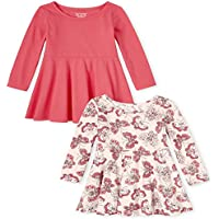 2-Pack The Children's Place Baby Girls' Long Sleeve Dresses