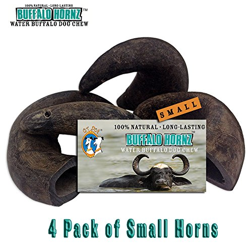 4 Pack of Buffalo Hornz Small Long Lasting 100%...