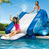 Snow Shop Everything Kool Jumper Splash Water Slide Inflatable Play Center Swimming Pool Wet Accessory Kids Fun Park Game Family