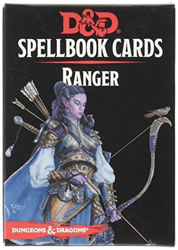 D&D Ranger - Tarjetas de Libro de hechizos