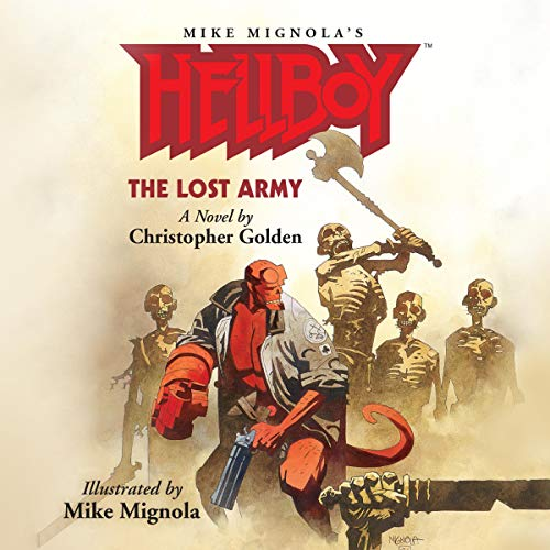Page de couverture de Hellboy: The Lost Army