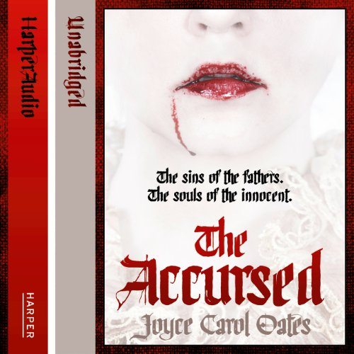 The Accursed audiobook cover art
