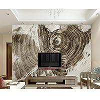 xueshao カスタム3D壁紙レトロシンプル新しいシルク木製テクスチャリングテレビ背景壁3D写真壁紙-150X120Cm