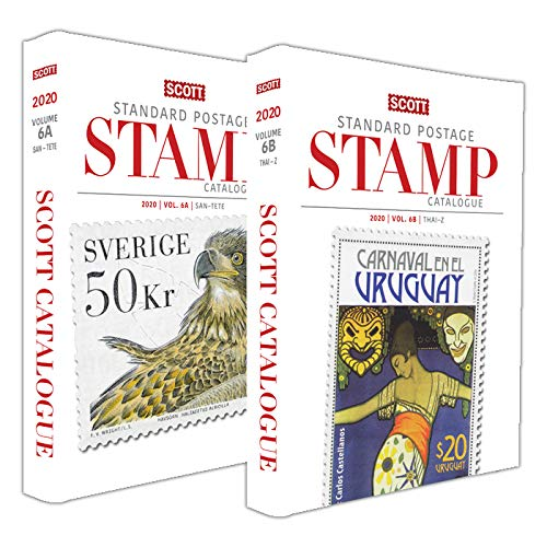 2020 Scott Catalogue Volume 6 (Countries San-Z) (Scott Standard Postage Stamp Catalogue 2020)