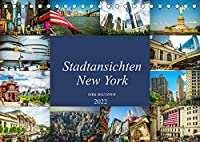Stadtansichten New York (Tischkalender 2022 DIN A5 quer): Momentaufnahmen aus der Stadt der Staedte, New York (Monatskalender, 14 Seiten )