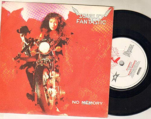 SCARLET FANTASTIC - NO MEMORY b/w no technology - 7 inch vinyl / 45