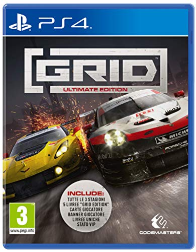 Grid Ultimate Edition - Ultimate - - PlayStation 4