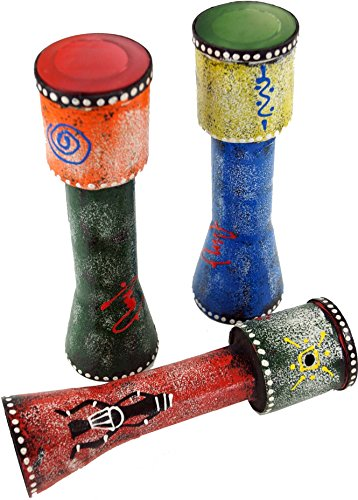 Guru-Shop Muziekinstrument van Hout, Handgemaakte Bamboefluit uit Indonesië - Misthoorn, Bruin, Muziekinstrumenten
