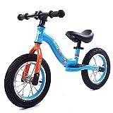 Bicicleta de Entrenamiento de Bicicleta de Niños con Manillar Ajustable Asiento, Acero Al Carbono Ligero 12'14' Bicicleta de Equilibrio para Niñas de 2 a 6 Años/B / 14inch