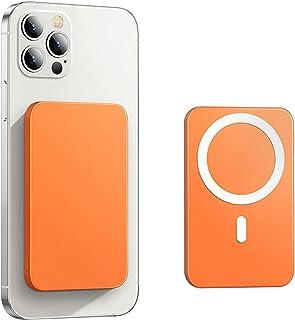 SUYING 15 W magnetisk trådlös powerbank, för magsäker backup-laddare, lämplig för iPhone12 12 pro max mini snabbladdande m...