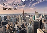 """New York City favorites / UK-Version (Wall Calendar 2021 DIN A4 Landscape): This calendar presents the """"Big Apple"""" at its best (Monthly calendar, 14 pages )"""