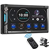 Double Din Car Stereo System, ABSOSO 7 Inch HD Touchscreen MP5 Car Player, Bluetooth Car Radio Receiver Supports...