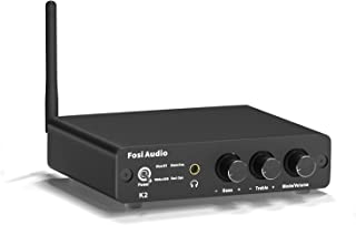 Fosi Audio DAC Converter 24-bit/192kHz Optical/Coaxial/USB Digital-to-Analog Adapter Decoder & Headphone Amplifier & Mini ...