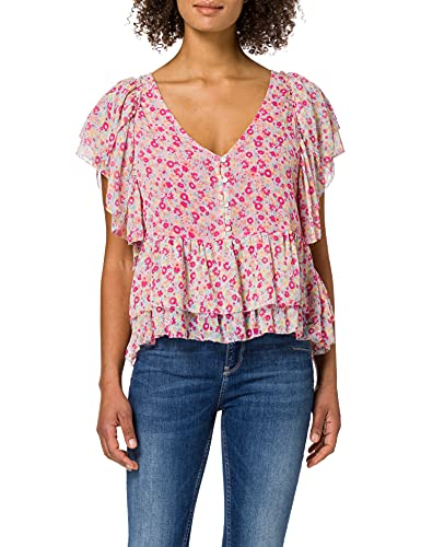 Pepe Jeans ORLENAS Blusa, 0aamulti, XS para Mujer