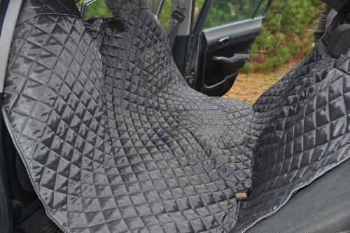 tierlando Autoschondecke MAX Auto Hundedecke Schutzdecke 160 180 200cm x 140cm Größe: SM 160 cm | Farbe: 02 Graphit