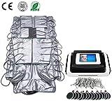 3 en 1 máquina de preterapia infrarroja lejana drenaje linfático infrarrojo EMS máquina de masaje adelgazante,Black
