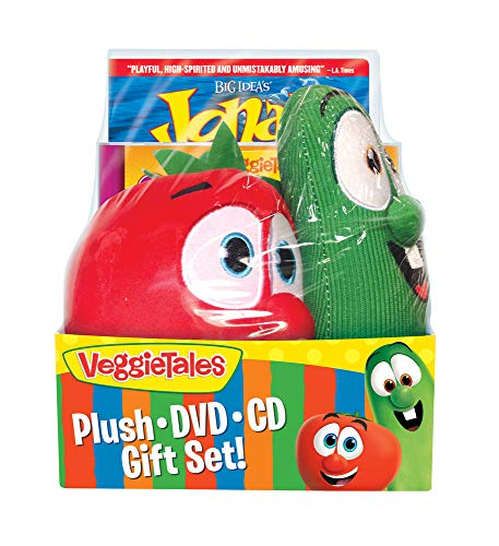 DVD-Veggie Tales: Easter Gift Set w/CD & Bob & Lar