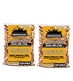 Smokehouse Products All Natural Flavored Wood Smoking Chunks, 2 Pack (Hickory)