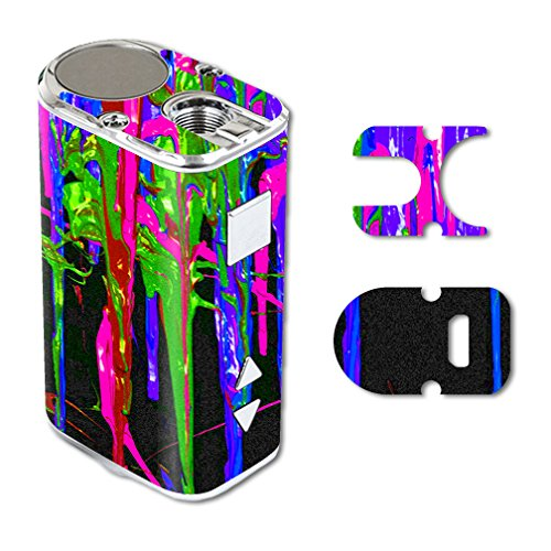 MightySkins Skin Compatible with Eleaf iStick 10W Mini – Drips | Protective, Durable, and Unique Vinyl Decal wrap Cover | Easy to Apply, Remove, and Change Styles | Made in The USA