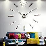 Vktech手作り DIY 壁時計 ウォールクロック  ウォールステッカー  時計を壁面に自由自在に設置できます 部屋装飾 模様替えに  簡単 おしゃれ!全10種類 (No.3)