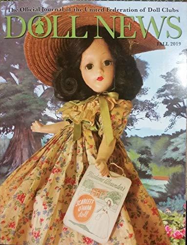 Doll News Fall 2019 Madame Alexander Scarlett O'hara on Cover