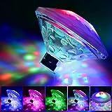 KOBWA Bad Licht Badewanne Lichter Wasserdichte Bunte LED Spielzeug Schwimmende Glühbirne Teich, Heiße Party Dekorationen