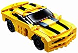 Vinsani 2 in 1 Transform Series Building Blocks Sports Car Action Figure Robot Toy