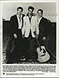 Historic Images -1990 Press Photo Michael St. Gerard, Blake Gibbons & Jesse Danson in Elvis