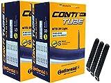 pneugo! Continental 47-622/60-622 (MTB Light) - Set di 2 camere d'aria da 29 pollici Sclaverand 47-622 (MTB Light) + 3 leve per pneumatici