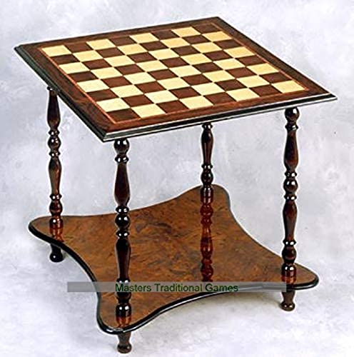 Giglio 2 Level, 4 Legged Chess Table (60mm squares)