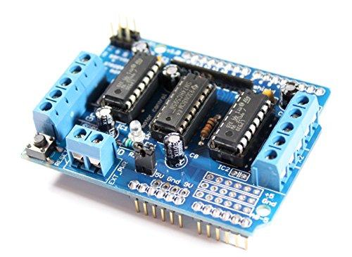 Motor para Arduino/Mega con 2 x L293D Controladores para motores paso, Servo