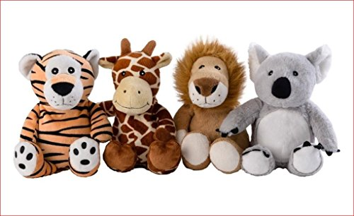 Warmies MINI Löwe, Tiger, Koala o. Giraffe Greenlife Wärmetier NEU 2014 (Löwe)