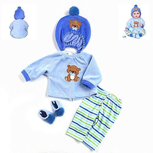 Reborn Baby Dolls Boy Clothes Bl...