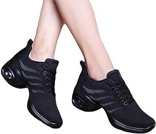 MNSSRN-MM Chaussures de Sport Respirant Danse, Respirant, Confortable, Bounce, léger et Doux Coussin, la Mode des Chaussur...
