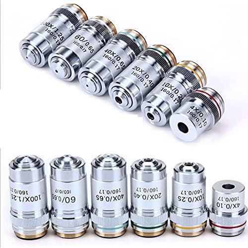KXA 4X Very popular 10X 20X 40X 60X Objective Microscope 100X Industry No. 1 Lens Achromatic