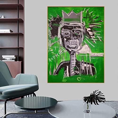 Danjiao Moderno Sin Título Graffiti Art Lienzo Pintura Póster E Impresiones Cuadros Cuadro De Arte De Pared Para La Decoración Del Hogar De La Sala De Estar (Sin Marco) Decor 40x60cm
