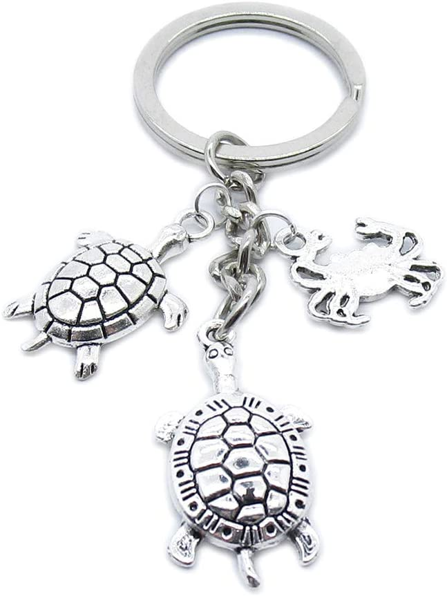100 Pieces 2021 spring and summer new Keyring Keychain New product! New type Wholesale Jewelry Suppliers B Clasps