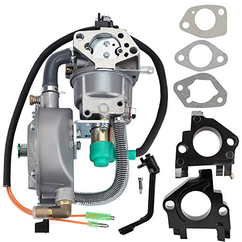 Kuupo GX390 Generator Dual Fuel Carburetor LPG CNG Conversion kit for 4.5-5.5KW Honda GX 390 188F 13HP Engine Motor Water Pump Champion 100153 100165 100296 100155 100230 100297 Generator