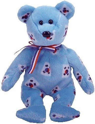 entrega rápida TY Beanie Baby - KOREA the Bear (Flag Pattern Version Version Version - Korea Exclusive) by TY Beanie Babies  wholesape barato