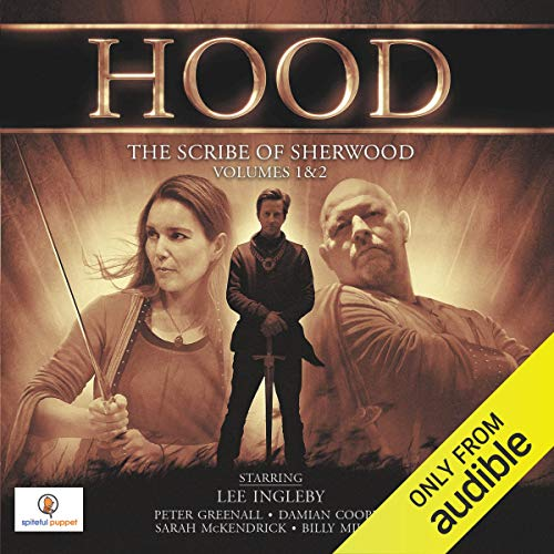 Hood: The Scribe of Sherwood audiobook cover art